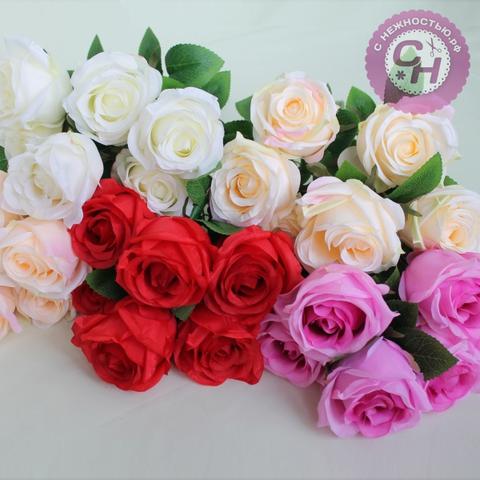 Букет крупных роз