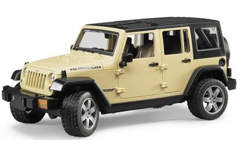 Bruder: Внедорожник Jeep Wrangler Unlimited Rubicon, 02-525