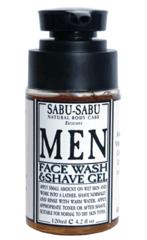 Гель для умывания и бритья для мужчин, Sabu-Sabu