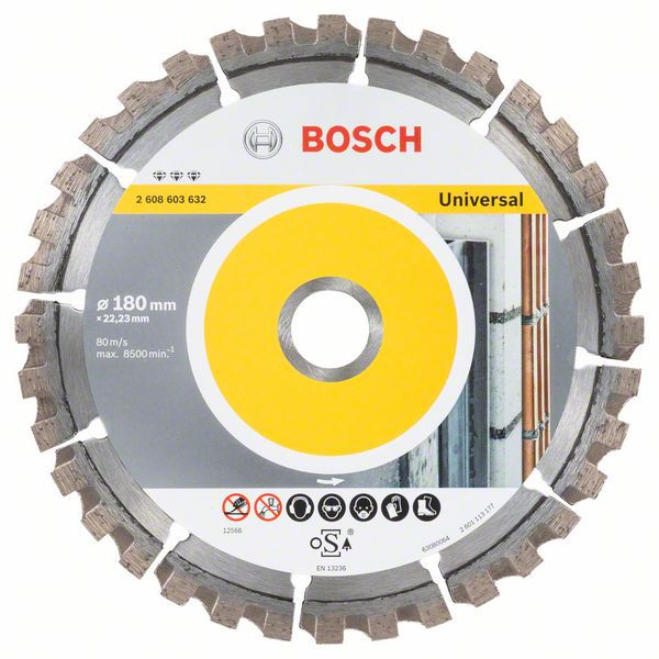 Алмазный диск Best for Universal 180-22,23 Bosch 2608603632
