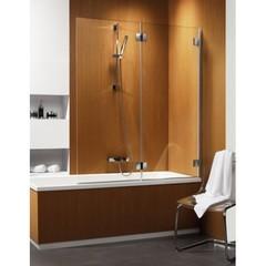 Шторка на ванну  Radaway Carena  PND 130 202201-101R правая, крепится справа, профиль хром, стекло прозрачное 130x150см.