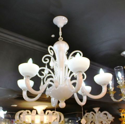 murano chandelier  SYLCOM 12-03  by Arlecchino Arts ( HK)