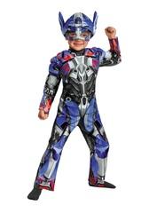 Трансформер Оптимус Прайм.  Фирменный костюм с мускулами и шапочкой.