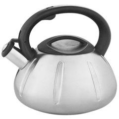 Чайник со свистком 3,0л Webber BE-0569 сатин