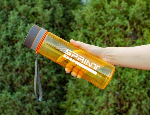 Бутылка POWCAN - 1000 мл. SPRINT - Оранжевый