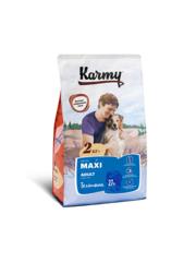 Корм для взрослых собак крупных пород, Karmy Maxi Adult, в возрасте старше года, с телятиной