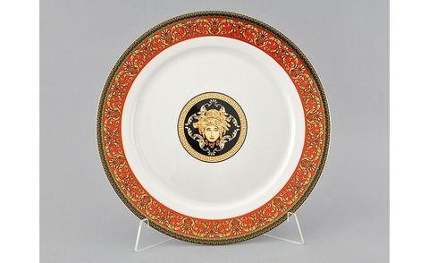 Блюдо круглое мелкое 30 см Сабина Leander
