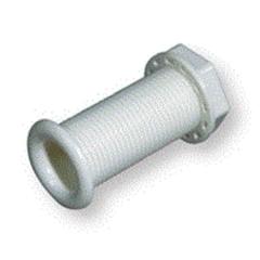 Стакан дренажный 30х80 мм, белый пластмасса
