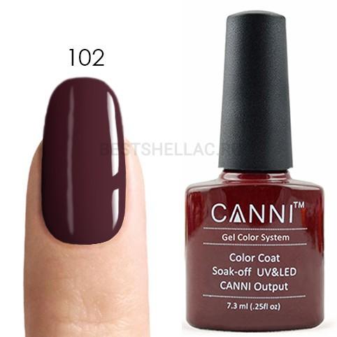 Canni Canni, Гель-лак 102, 7,3 мл 102.jpg