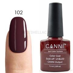 Canni, Гель-лак 102, 7,3 мл
