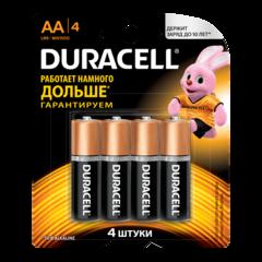 Батарейки Duracell АА 4шт