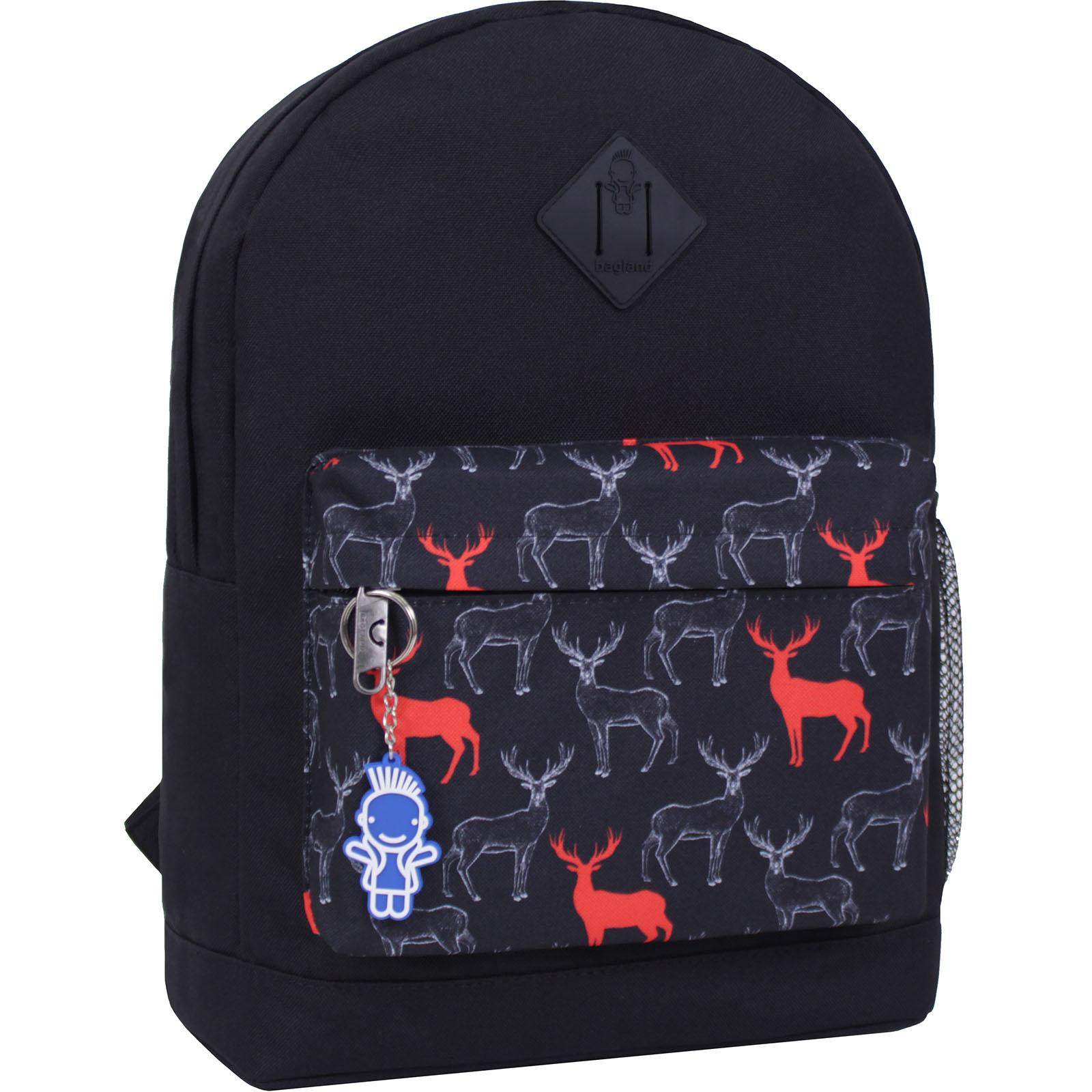 Городские рюкзаки Рюкзак Bagland Молодежный W/R 17 л. черний 471 (00533662) IMG_2461_суб.471_.JPG