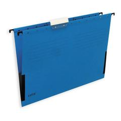 Подвесная регистратура папка LEITZ L-19860135 ALFA А4 сбок.ограничит.синяя