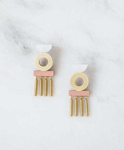 Серьги Memento Earrings Blush