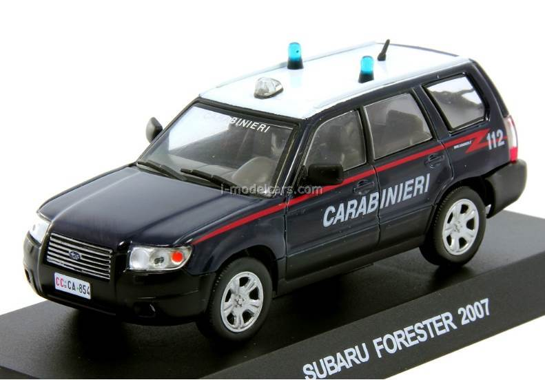 Subaru Forester 2007 Italian Police 1:43 DeAgostini World's Police Car Special edition #3