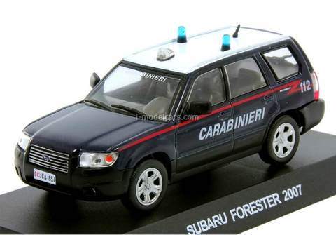 Subaru Forester 2007 1:43 DeAgostini World's Police Car Special edition #3