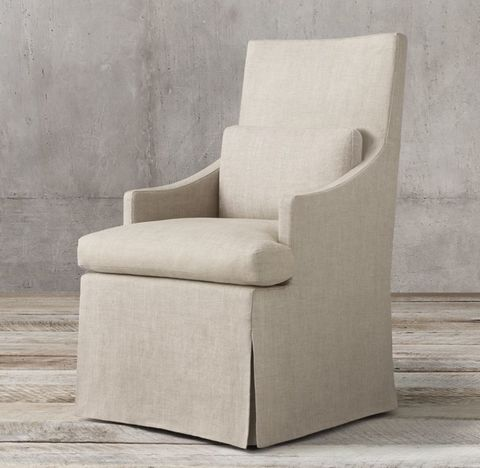 Luxe Slope Arm Upholstered Armchair