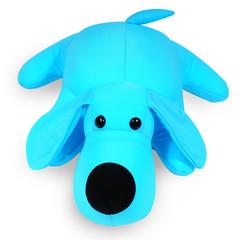 Подушка-игрушка антистресс «Голубой Патрик» 1