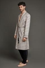 Мужской хлопковый халат 61332  Laete Турция