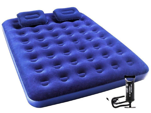 Надувная кровать Intex 67374 + 2 подушки и насос