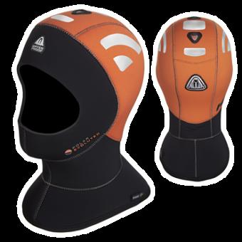 Неопреновый капюшон 5/10 мм Waterproof HVH POLAR EVO, оранжевый