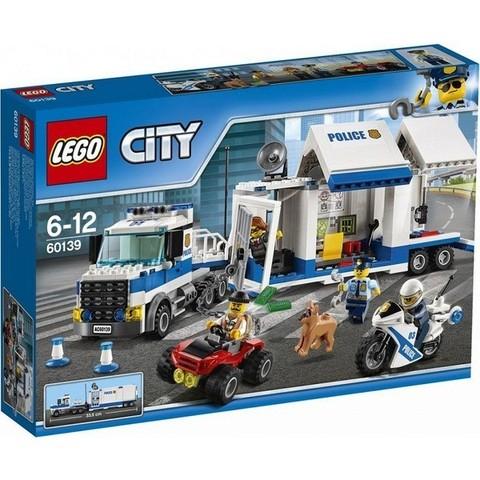 LEGO City: Мобильный командный центр 60139 — Mobile Command Center — Лего Сити Город