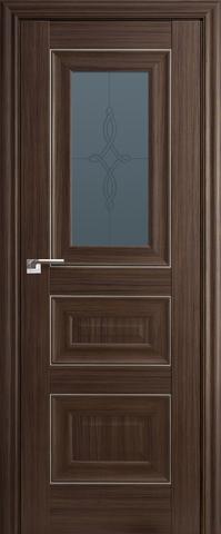 > Экошпон Profil Doors №26Х-Классика, стекло узор, цвет натвуд натинга, остекленная