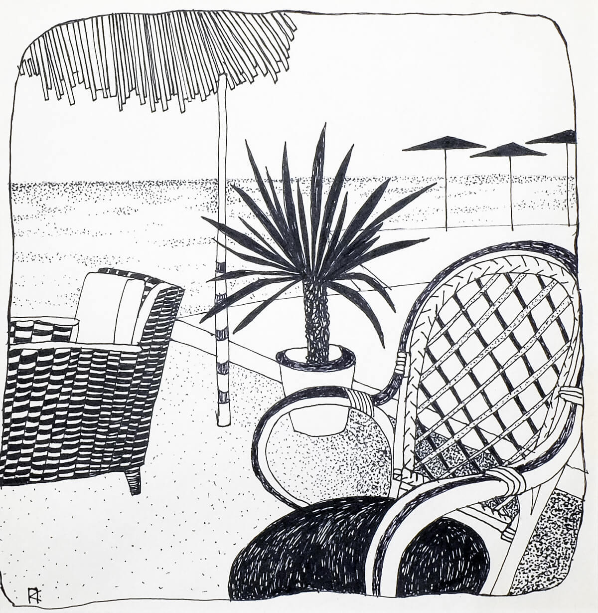 Кафе у моря