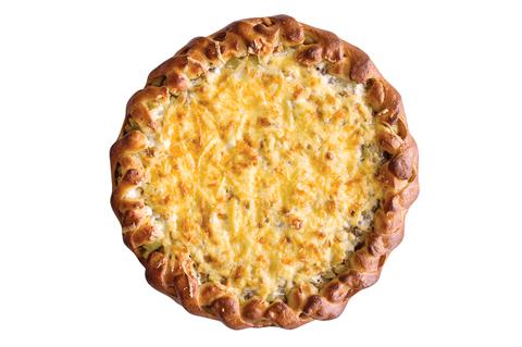 Пирог Тататрский с мясом картошкой и сыром