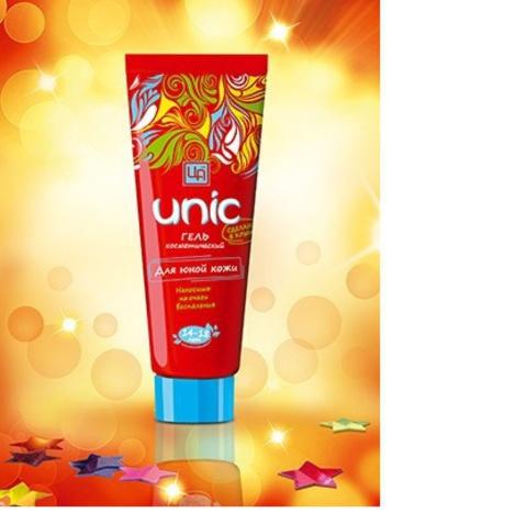 Гель противовоспалительный для ухода за юной кожей Unic