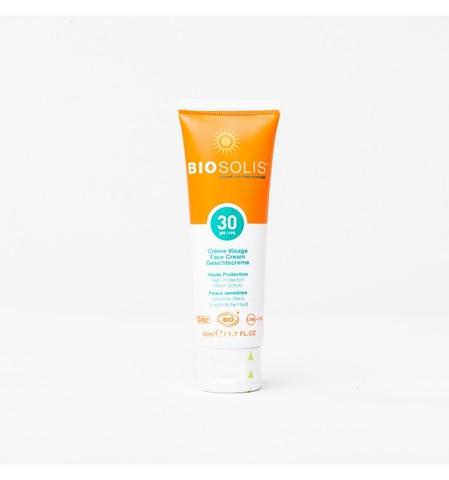 Крем солнцезащитный для лица SPF 30, 50 мл