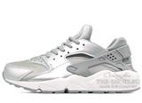 Кроссовки Женские Nike Air Huarache ES Silver Grey