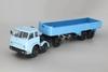 1:43 МАЗ-520 (6x2) + МАЗ-5205, голубой / синий
