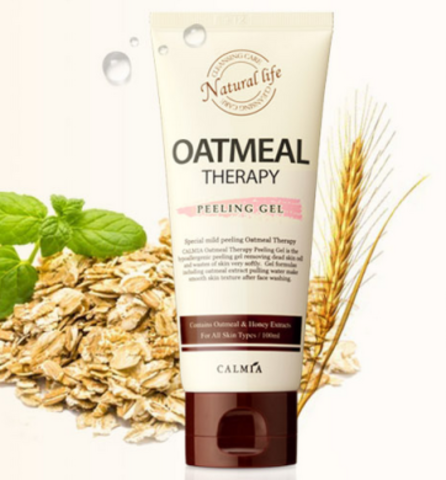 Пилинг-гель c экстрактом овса Oatmeal Therapy Peeling Gel от Calmia