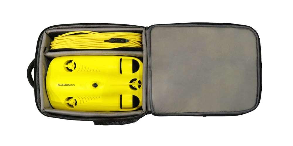Подводный дрон Gladius Mini Combo в кейсе