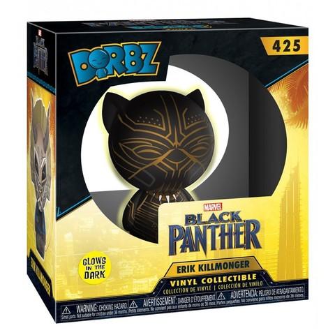 Erik Killmonger Black Panther Dorbz Vinyl Figure