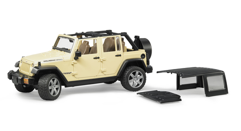 Bruder: Внедорожник Jeep Wrangler Unlimited Rubicon, 02-525