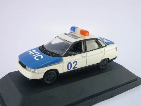 VAZ-2110 Lada DPS Police 1:43 Agat Argon Tantal