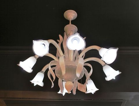 murano chandelier  SYLCOM 12-04  by Arlecchino Arts ( HK)