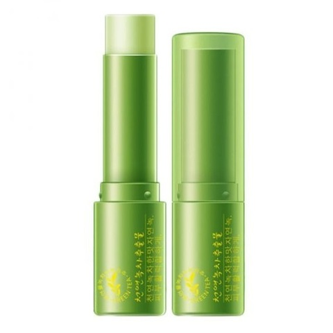 Бальзам для губ Rorec Natural Green tea water Lip balm