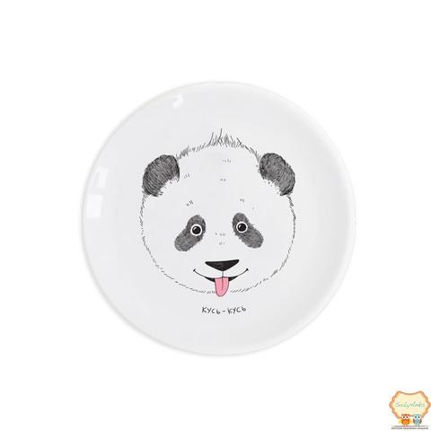 """Детская тарелка """"Панда кусь-кусь"""""""