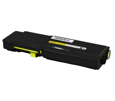 Совместимый картридж Xerox Phaser 6600 / WC6605 (106R02235) желтый повышенной ёмкости. Ресурс 6000 страниц