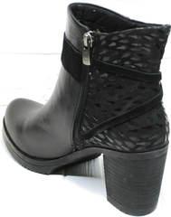 Осенние ботинки женские Lady West 1343 101 Black