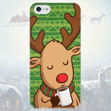 Чехол для iPhone 7+/7/6s+/6s/6+/6/5/5s/5с/4/4s WINTER DEER