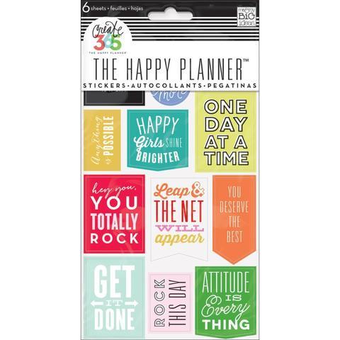 Блокнот со стикерами для ежедневника Create 365 Planner Stickers- Show Up