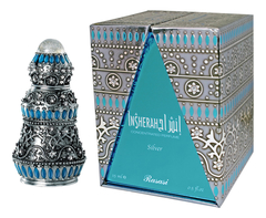 Духи натуральные масляные INSHERAH silver /Иншера серебрянный/15 ml / ОАЭ/ Rasasi