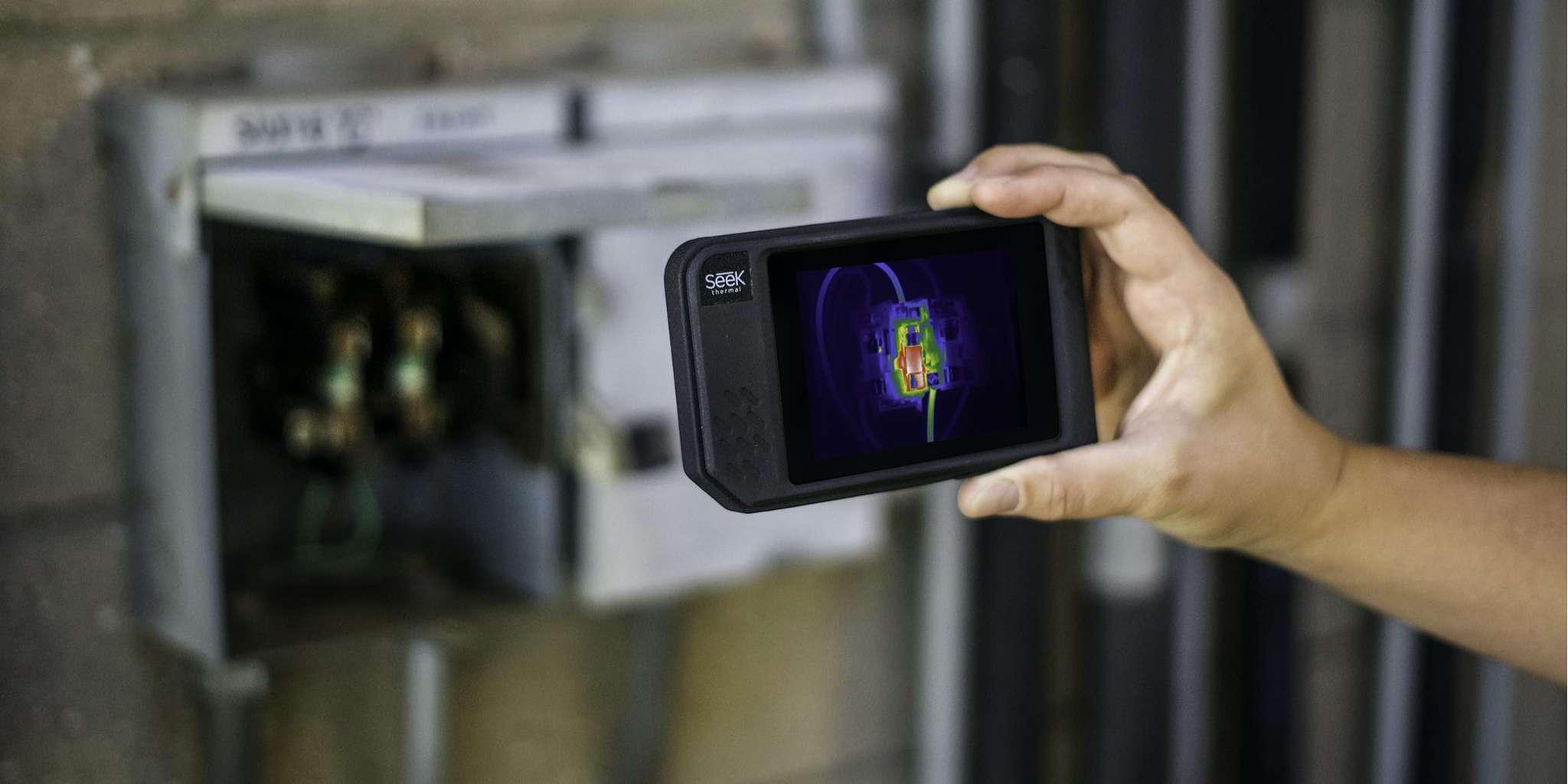 Тепловизор Seek Thermal Shot PRO измерение