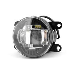 Фары противотуманные светодиодные MTF Light линза, 12В, 10Вт, ЕСЕ R19, E6, универсальные