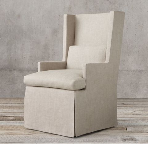 Luxe Shelter Arm Upholstered Armchair