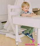 Растущий стульчик, белый 12